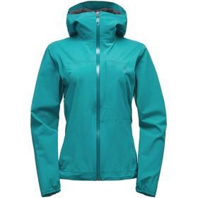 Black Diamond Fineline Stretch Rain Shell Jacket Women evergreen